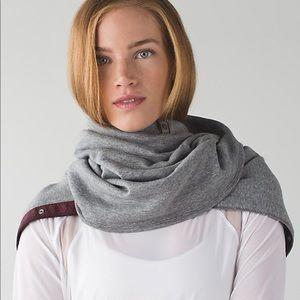 Lululemon velour vinyasa scarf